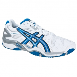 Asics Gel Resolution 5 ( White )