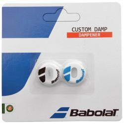 Antivibratoire Babolat Custom Damp ( blanc / bleu )