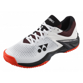 Yonex Power Cushion Ecliption 2 ( clay ) White / Orange