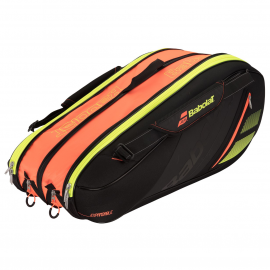 Thermobag Babolat Team Expandable Orange, noir ( 4 - 7 - 10 raquettes ) 2018