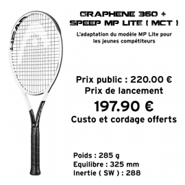 Head Graphene 360 + Speed MP Lite ( MCT )